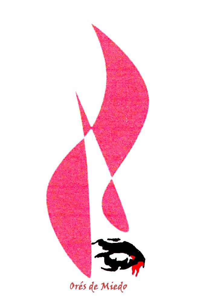 Logo Ores Miedo blanco
