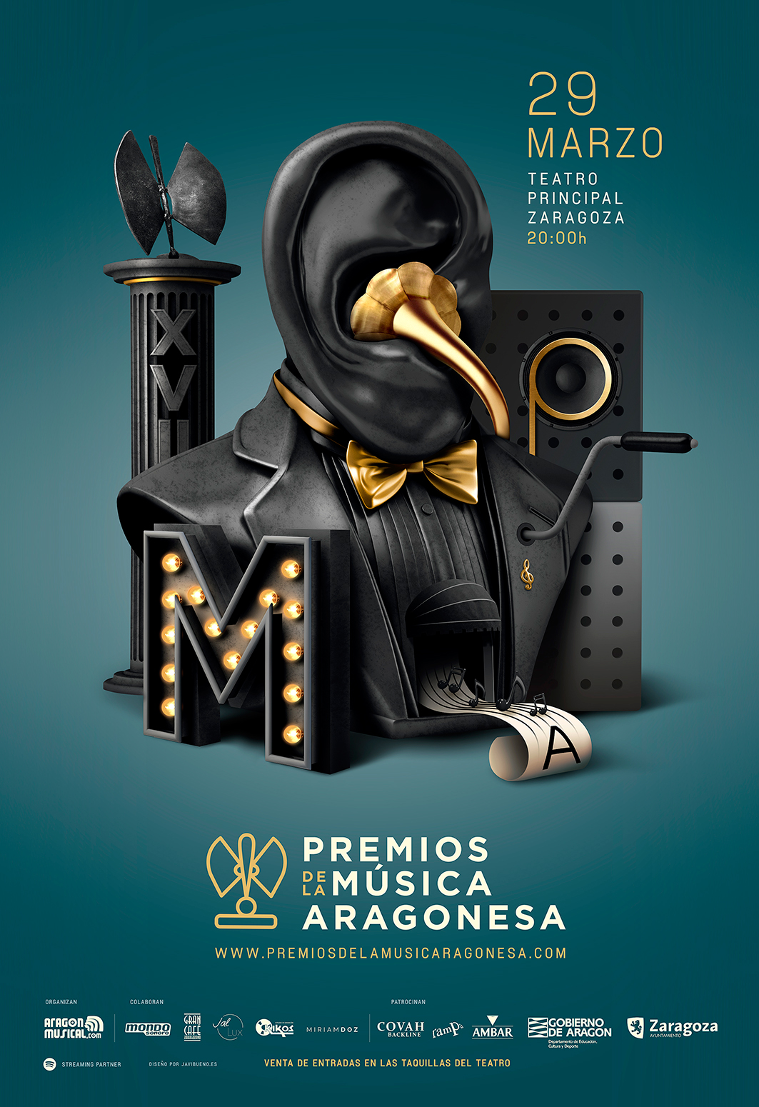 Cartel Premio2016 Música