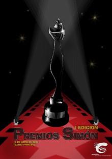 Cartel 1ª Edición Premios Simon