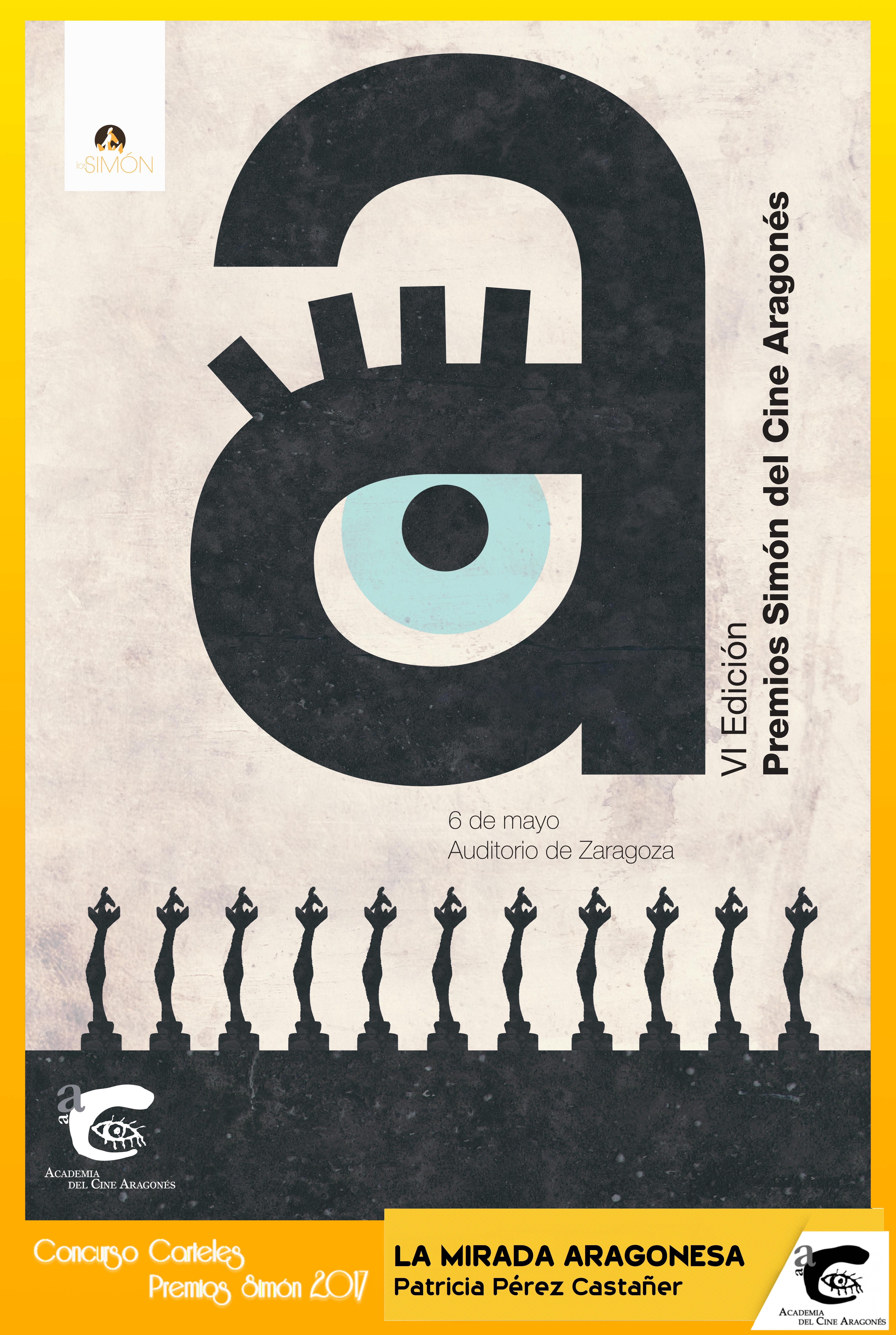 Cartel 6ª Edición Premios Simón – La Mirada Aragonesa