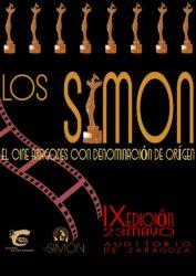 Cartel Premio IX Simon en Oro y Negro