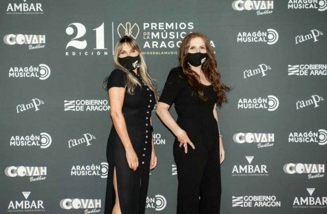 Isabel Lahuerta y Miriam Martín