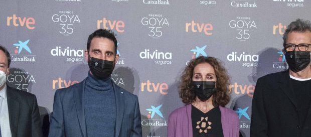 Mariano Barroso, Ana Belen y Dani Rovira