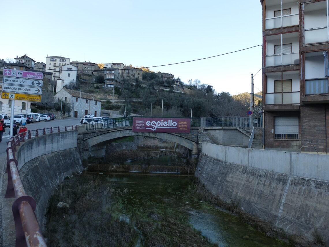 Boltaña, localidad pirenaica de la comarca de Sobrarbe, sede de Espiello