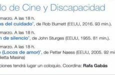 XXII Ciclo de Cine y Discapacidad