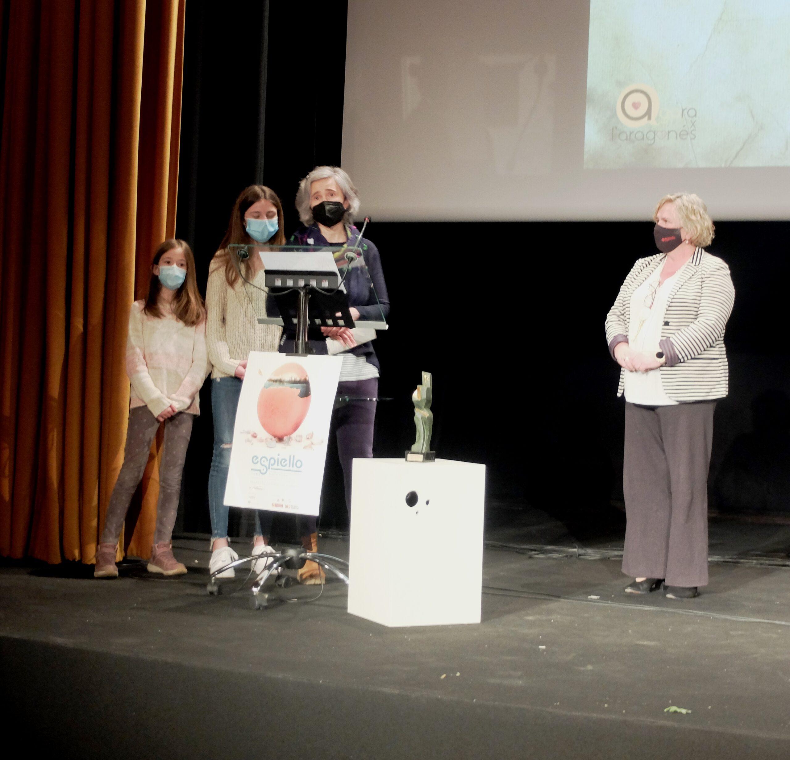 otra del premio al CRA Cinca Cinqueta