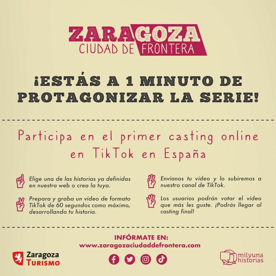 Zaragoza Ciudad de Frontera Casting